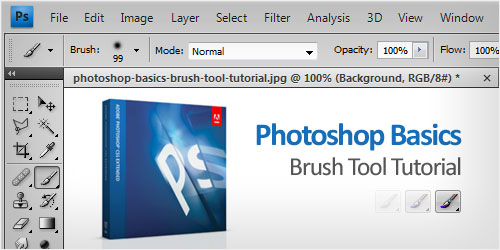 Photoshop Basics: Brush Tool Tutorial