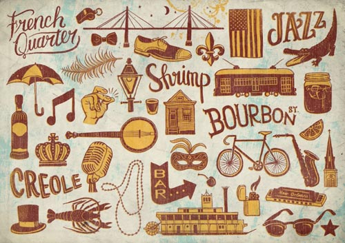 Studio Muti Illustration Typography Design