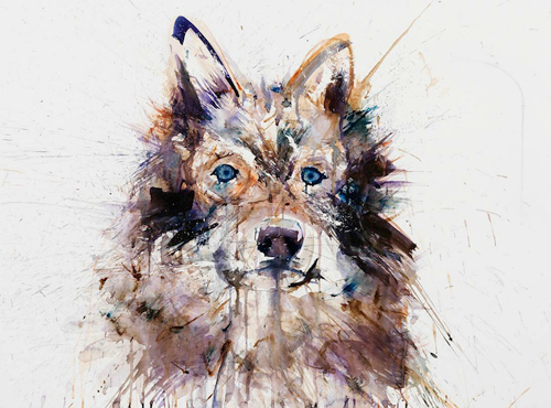 Watercolor Paintings by Dave White