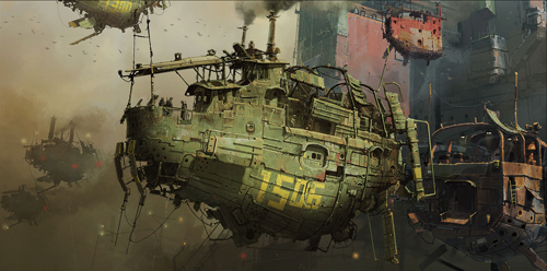 Concept Art by Ian McQue
