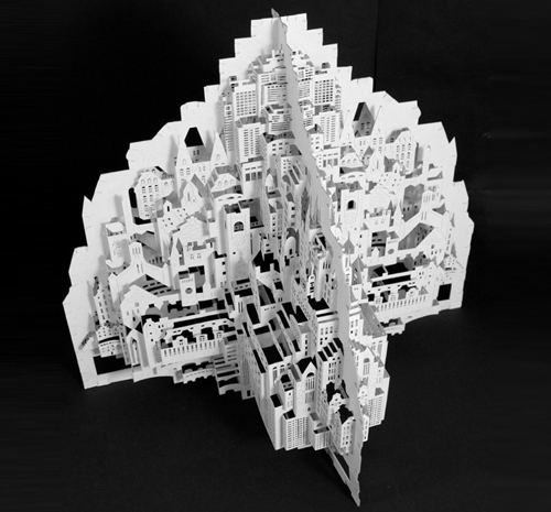Architecture Paper Sculptures
