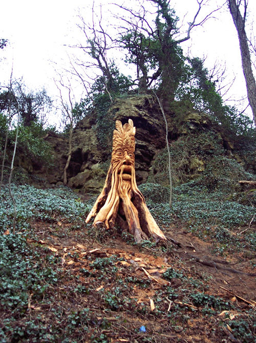 Mysterious Tree Sculptures by Tommy Craggs