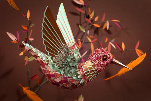 Paper Art by Zim and Zou