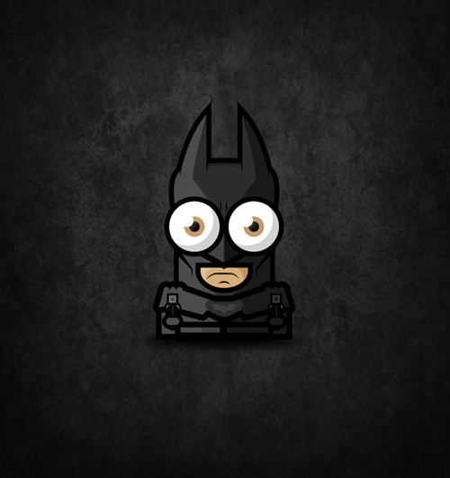 Big Eyed Tiny Superheroes by Ahmad Kushha