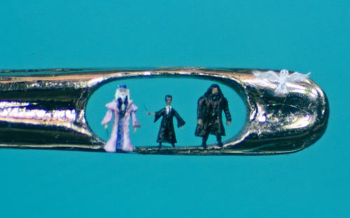 Micro Sculptures by Willard Wigan