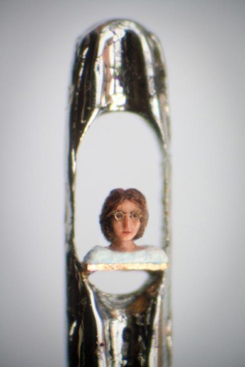 Micro Sculptures by Willard Wigan