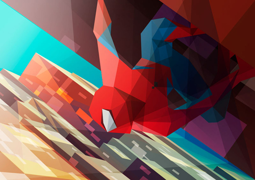 Polygonal Illustrations by Liam Brazier