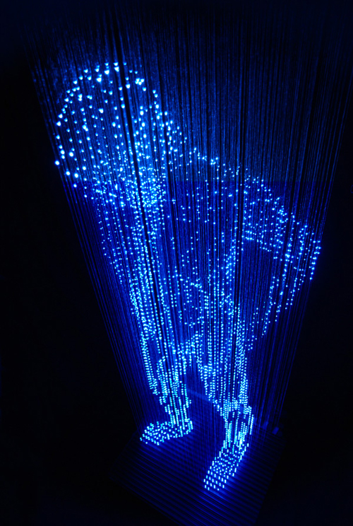 Stunning Light Sculptures by Makoto Tojiki