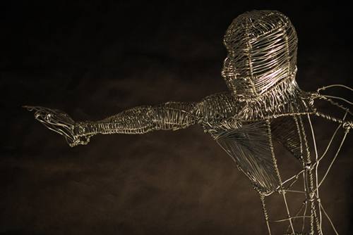 Wire Sculptures by Federico Carbajal