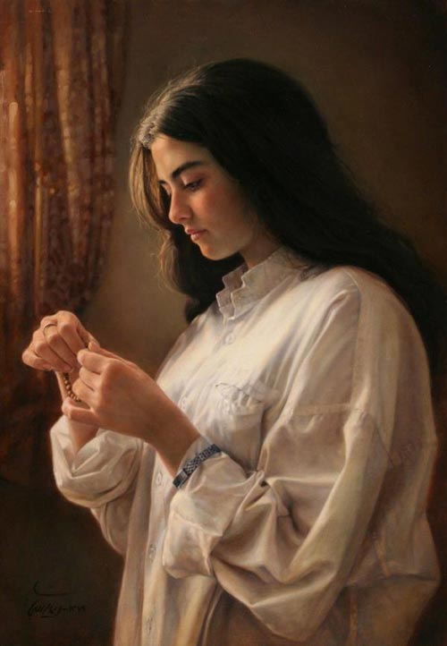 12 Amazing Paintings by Iman Maleki