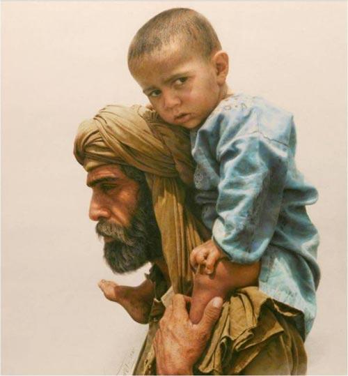 12 Amazing Paintings by Iman Maleki
