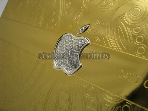 Apple MacBook Pro Gets a Gold and Diamond Makeover