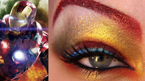 Avengers Eye Makeup by Jangsara