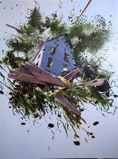 Exploded Structures by Ben Grasso