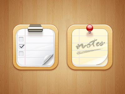 iPhone iPad Icons Design