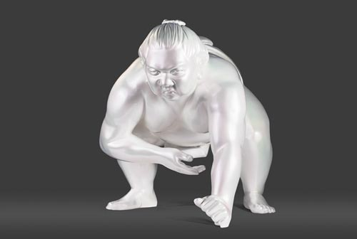 Amazing Sumos Sculptures by Alexandra Gestin