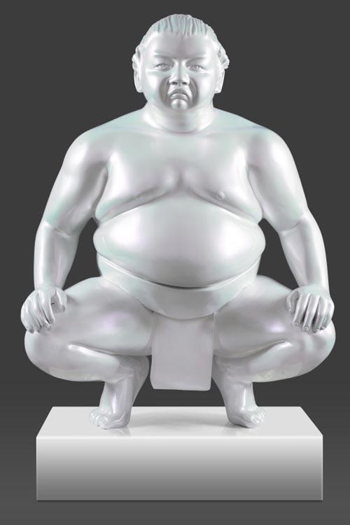 Amazing Sumos Sculptures by Alexandra Gestin