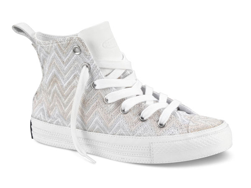 Zig Zag Sneakers by Chuck Taylor Missoni