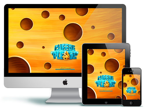Cheese Please Wallpapers for iPhone iPad Desktop