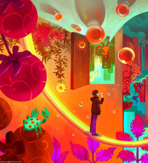 Cool Illustrations by Elda The