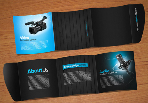 Brochure Design Examples - Anchure Brochur