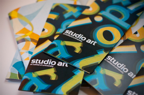 Brochure Design Examples - Studio Art Brochure
