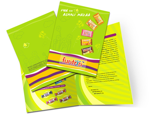 Brochure Design Examples - Retail Brochure