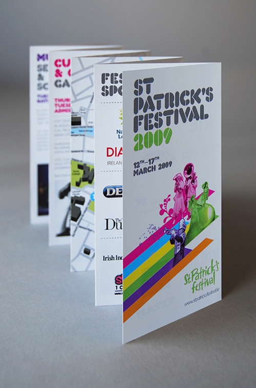 Brochure Design Examples - St Patricks