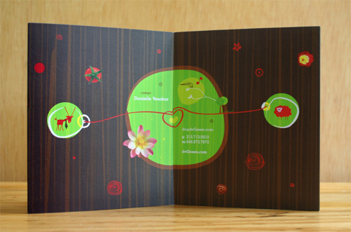 Brochure Design Examples - dvGreen Brochure