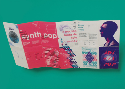 Brochure Design Examples - Festival Brochure and Billboard