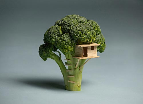 Awesome Food Art by Brock Davis