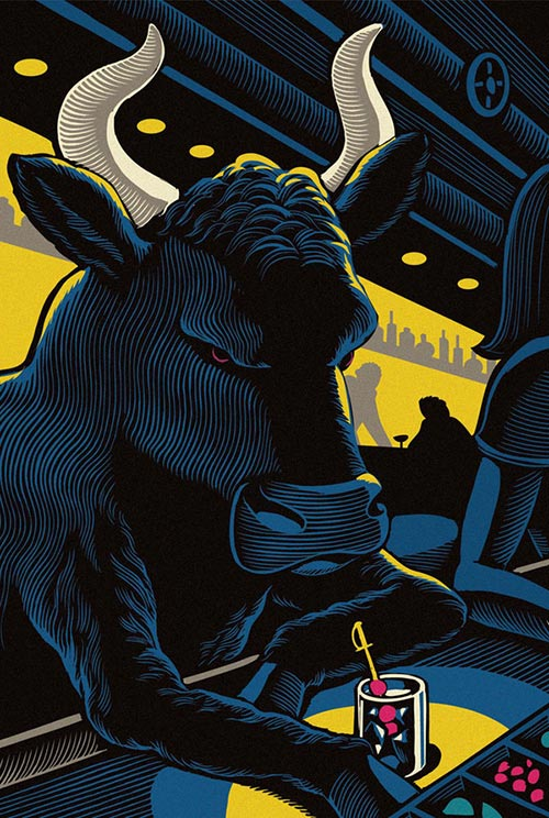 Impressive Illustrations by Chris Gall