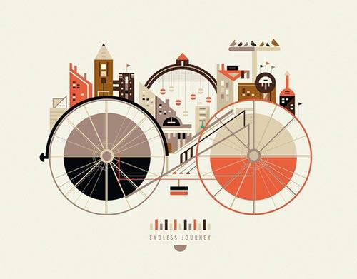 Inspiring Illustrations by Petros Afshar