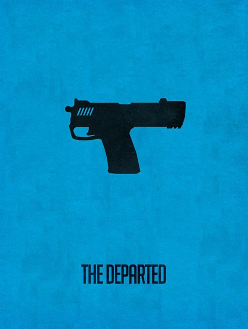 Minimalistic Hollywood Poster by Subhajyoti Ghosh