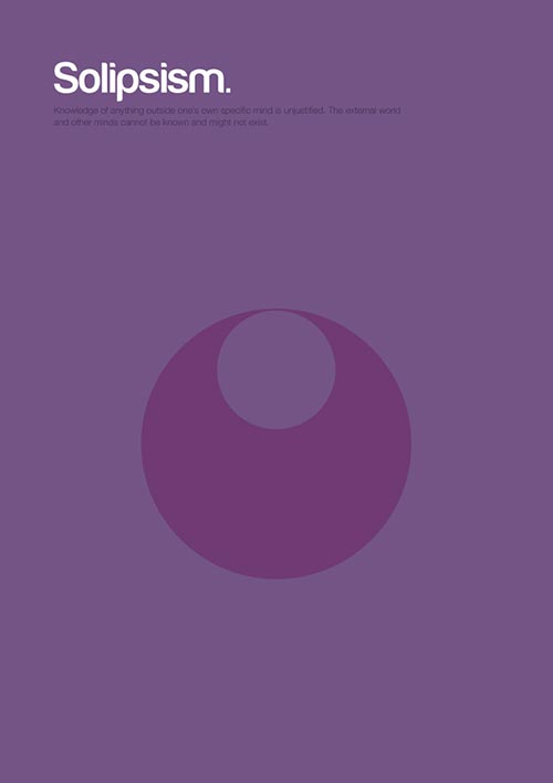 Philosophy Posters by Genis Carreras