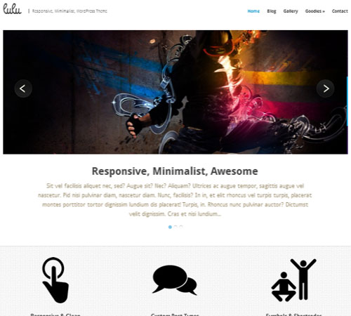Lulu - Responsive WordPress Theme