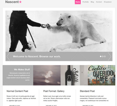 Nascent - Agency WordPress Theme