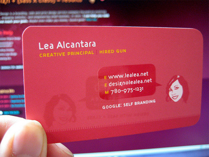 15 Bright Colored Business Cards