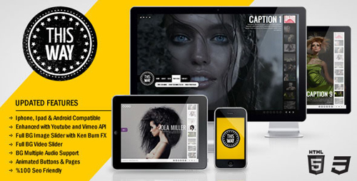 HTML Portfolio Website Templates