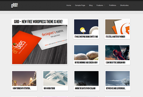 WordPress Portfolio Themes 2012