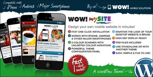 WordPress Android Themes