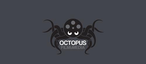 Octopus film media logo