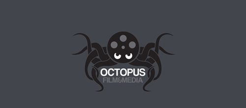 Octopus film media logo