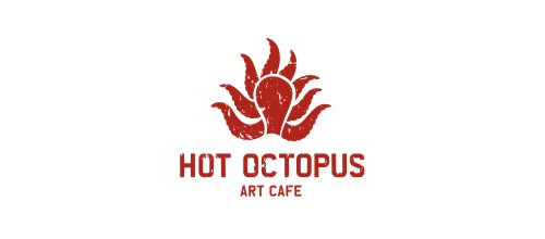 hot octopus logo