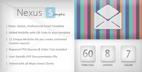 25+ Great Minimalist Html Email Template