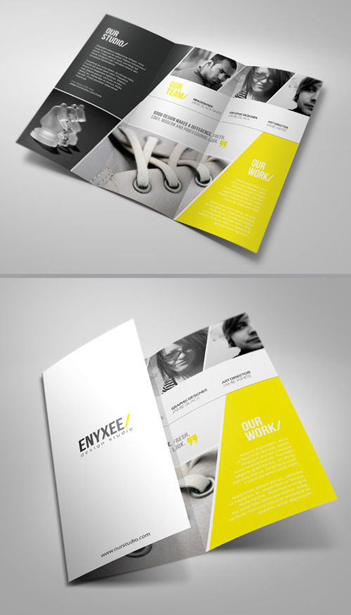 20 beautiful brochure designs inspiration for Awesome tri fold brochure design