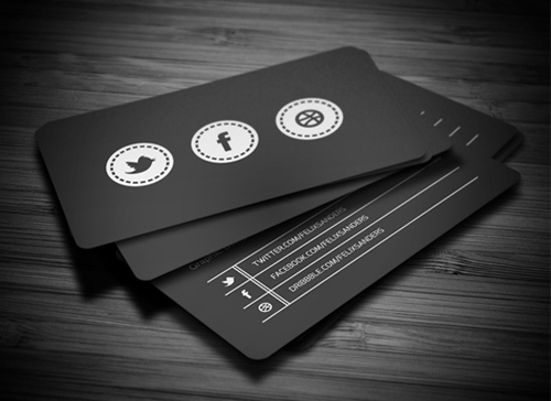 25 awesome business cards inspiration reheart Gallery
