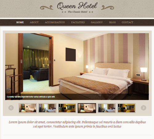 20 Premium Hotel And Resort Wordpress Themes And Html Templates