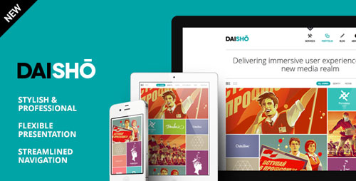 Daisho - Flexible WordPress Portfolio Theme - Retina Ready WordPress Theme