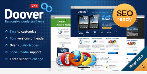 Doover Premium WordPress Theme - Retina Ready WordPress Theme